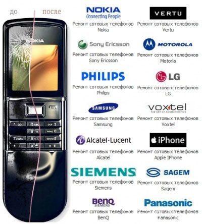 Ремонт мобильных телефонов в Омске